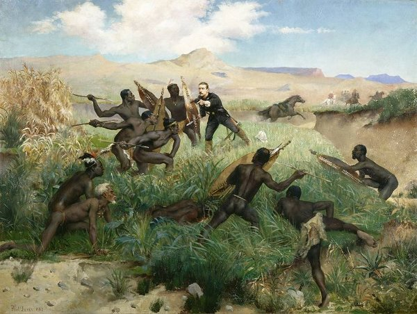 La muerte del último Napoleón, en batalla contra los zulúes