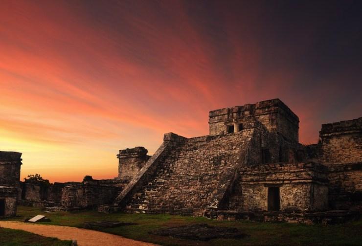 Antigua ciudad maya de Tulum / foto Shutterstock
