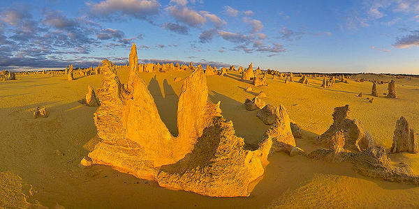 El Desierto de los Pináculos australiano