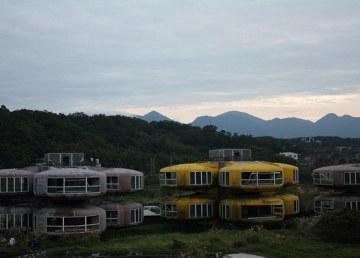 """Las abandonadas """"casas extraterrestres"""" de Taiwan 1"""