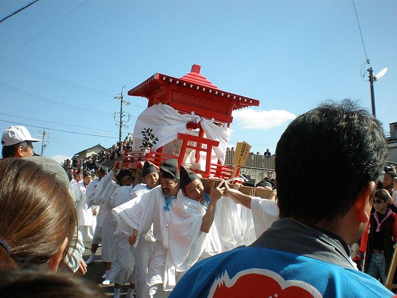 Los festivales sexuales de primavera en Japón