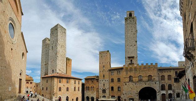 Las torres de San Gimignano