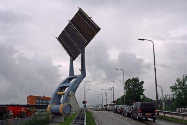El puente volante de Holanda
