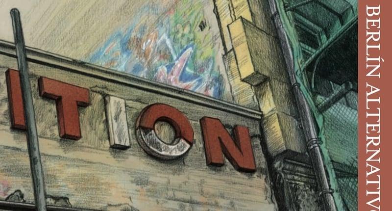 Berlín Itinerarios, una guía de la capital alemana con estética de cómic