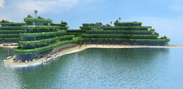 El nuevo hotel flotante de maldivas for El mejor hotel de maldivas