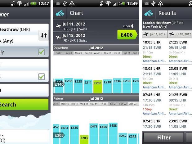 Actualizada la aplicación de Skyscanner para iOS