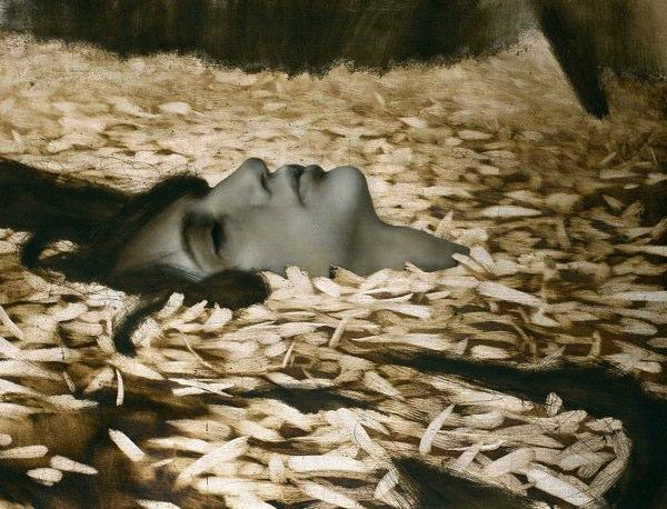 Brad Kunkle y sus pinturas neo prerrafaelitas