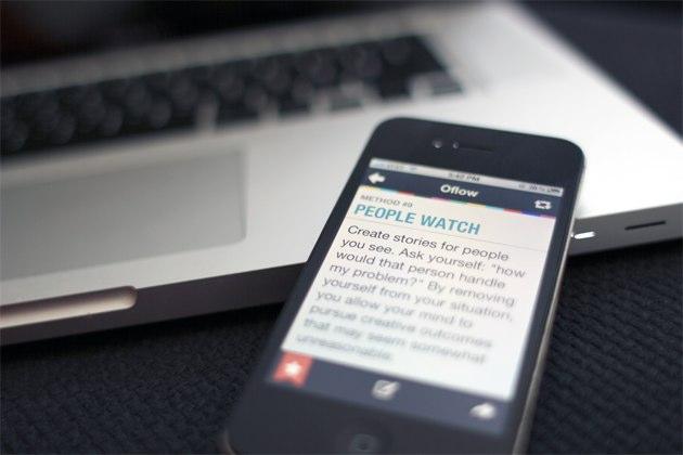 Oflow, una aplicación para fomentar la creatividad