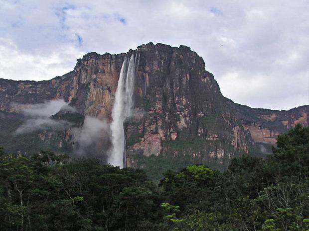 El Salto del Ángel, la cascada más alta del mundo
