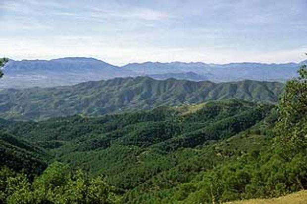 El Parque Natural de los Montes de Málaga