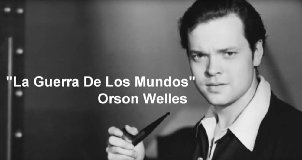 La famosa retransmisión de «La guerra de los mundos» por Orson Welles