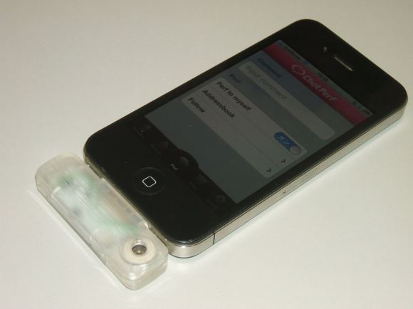 Una aplicación para iPhone que envía olores
