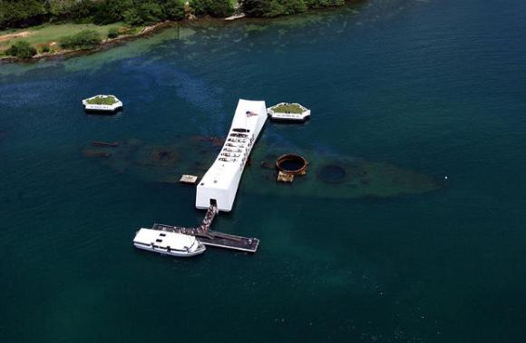 USS Arizona recuerdo Pearl Harbor