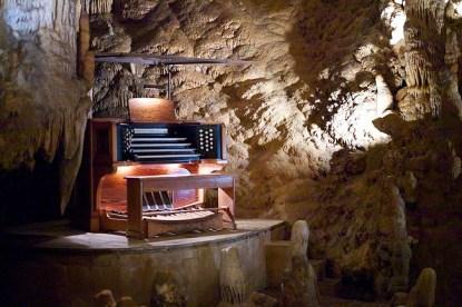 The Great Stalacpipe Organ, el instrumento natural más grande del mundo