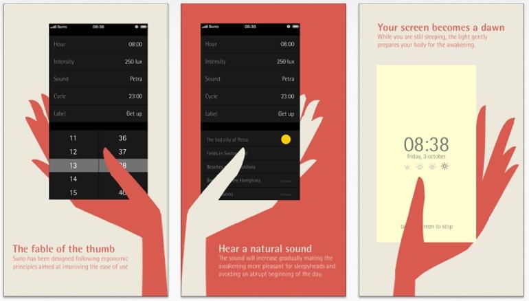 Suno, la aplicación que simula el amanecer en el iPhone