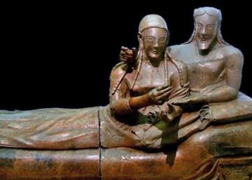 Los etruscos no vinieron de Anatolia