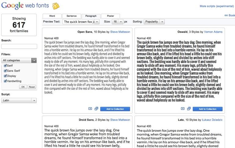 Cómo usar las fuentes tipográficas de Google en tu blog