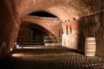 Un laberinto de túneles bajo las calles de Liverpool