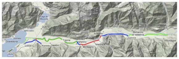 Sentiero Valtellina Camino Español