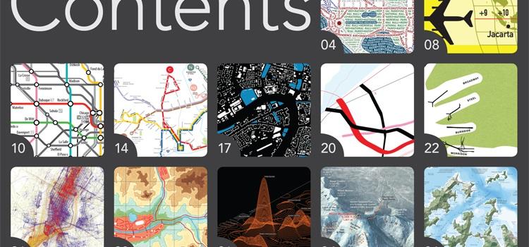 Atlas of Design recopila los mejores mapas del 2012