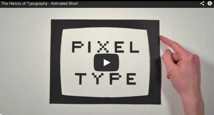 La historia de la Tipografía en cinco minutos