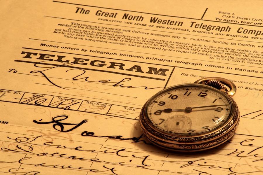El último telegrama del mundo