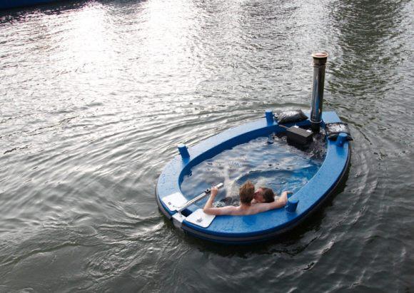 HotTug jacuzzi flotante