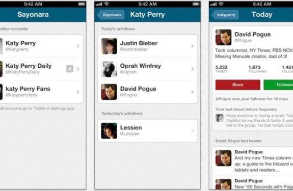 3 aplicaciones para gestionar tus followers de Twitter en el iPhone 2