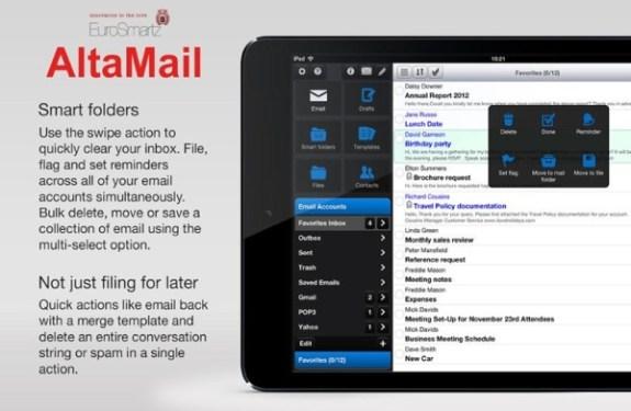 AltaMail: el cliente de email imprescindible para iOS 2