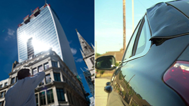 El rascacielos que derrite los coches