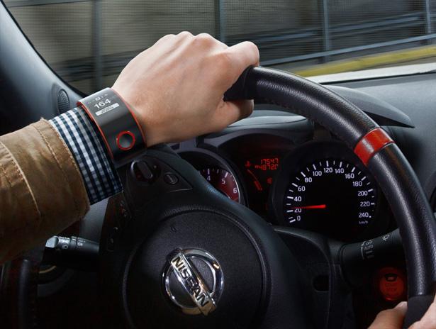 Nissan presenta el primer smartwatch que se conecta con el coche
