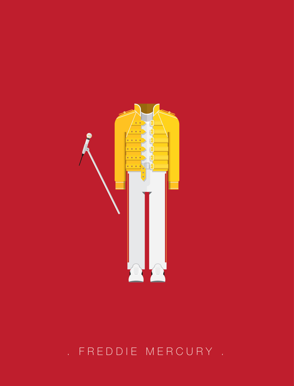 Freddie Mercury Iphone Wallpaper Posters De Atuendos Pop Famosos