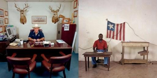 Jan Banning y sus fotos de funcionarios alrededor del mundo