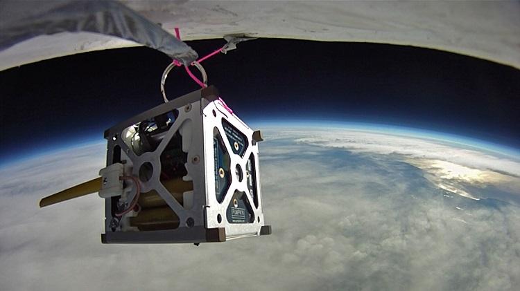 La NASA pone tres smartphones en órbita