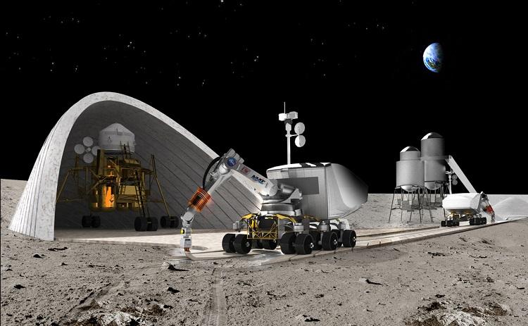La NASA quiere construir bases lunares con impresoras 3D 1