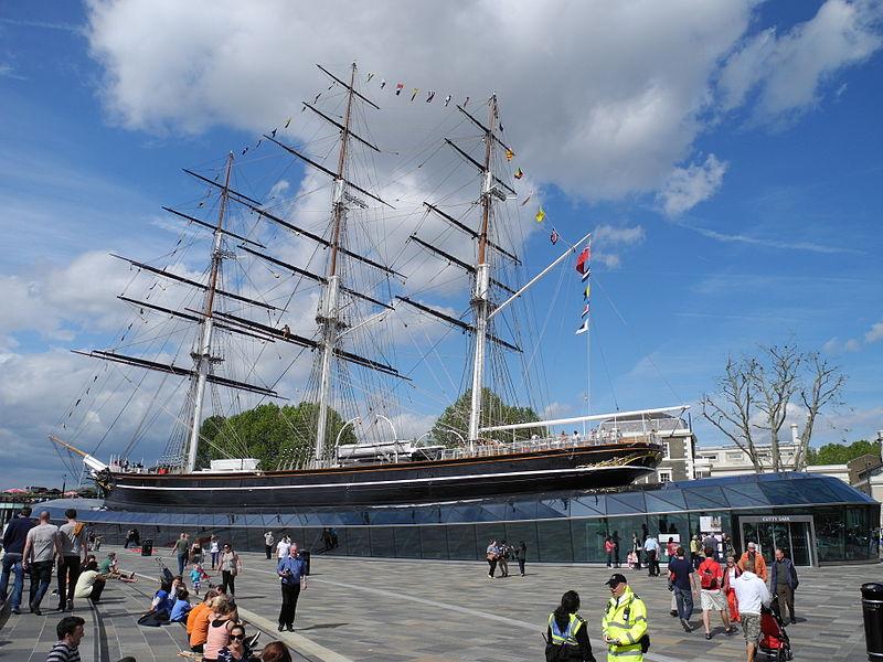 Cutty Sark, el velero que se hizo famoso tras perder una carrera