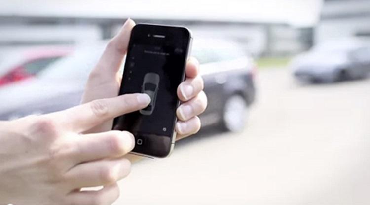 Una aplicación móvil para aparcar sin necesidad de conductor 1