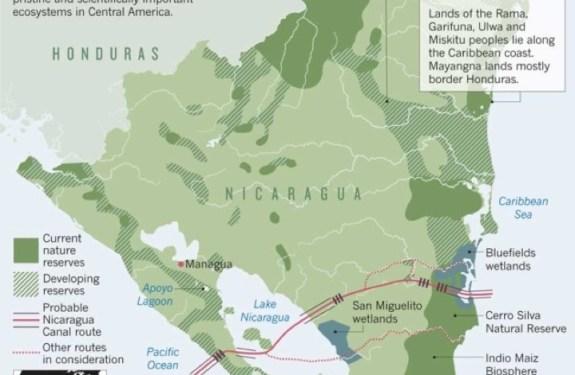 Nicaragua planea construir su propio canal interoceánico 1