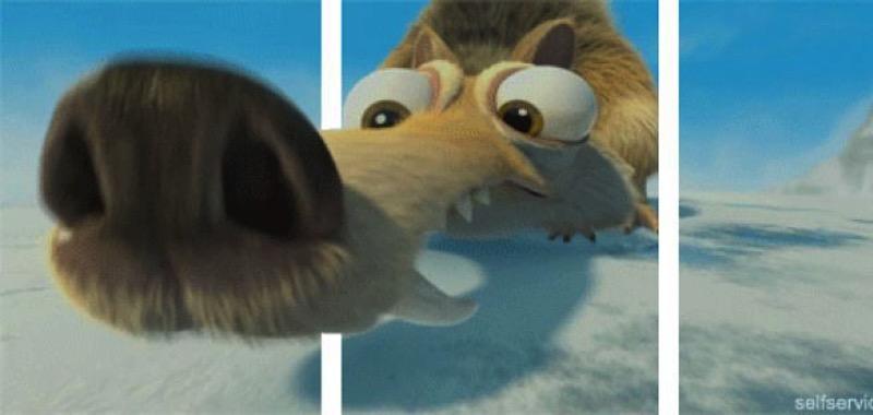 Un simple truco hace que los GIFs parezcan tridimensionales