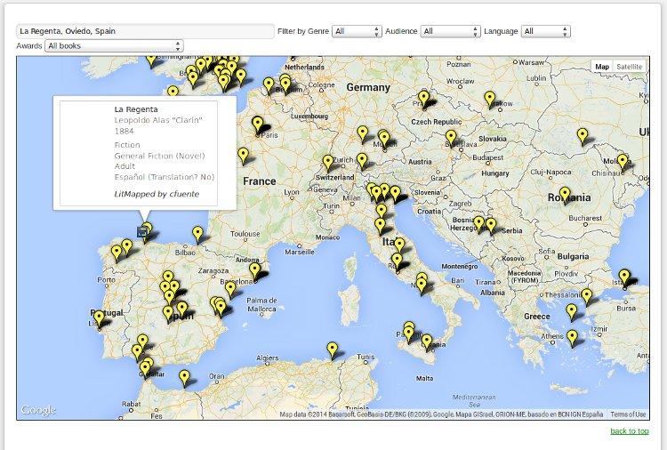 Mayores mapamundis Historia Literatura II