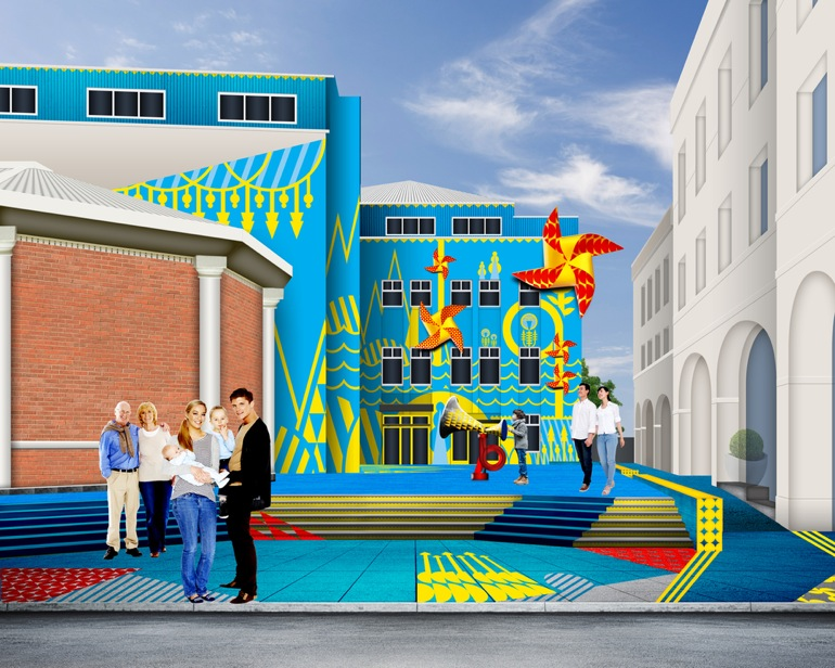 Un museo convertido en juguete para niños
