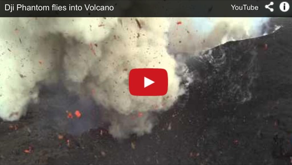 Sobrevolando el volcán Yasur con drones