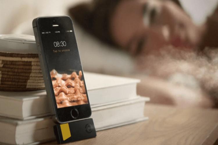 Una aplicación para despertarte con el sonido y el olor del beicon