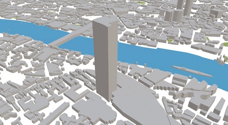 ViziCities permite visualizar multitud de datos sobre una ciudad modelada en 3D