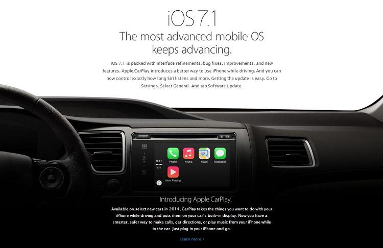 La última versión de iOS ya soporta CarPlay 2