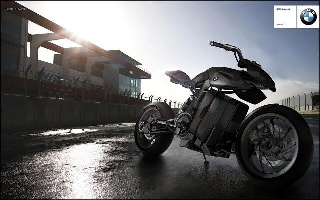 Motocicletas ecológicas para el futuro