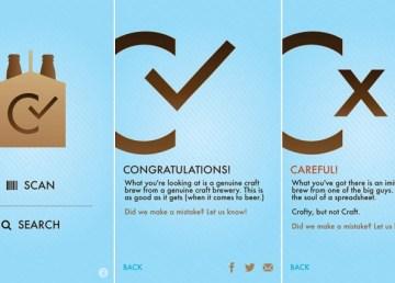 Craft Check, una aplicación para comprobar si una cerveza es artesanal