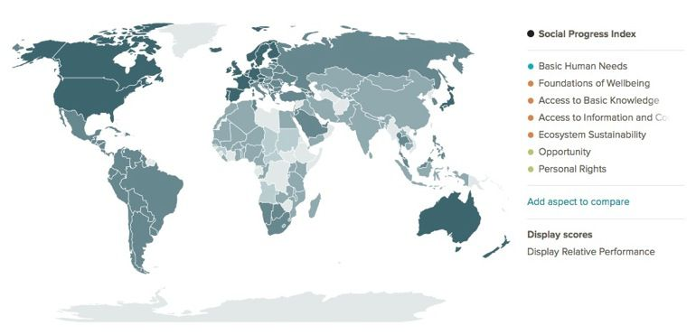 España por debajo de Panamá y Serbia en el índice de bienestar 1