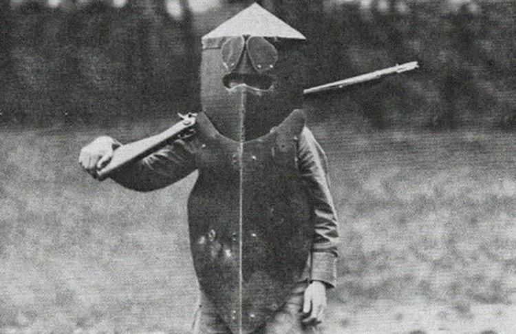 Armas medievales en la Primera Guerra Mundial