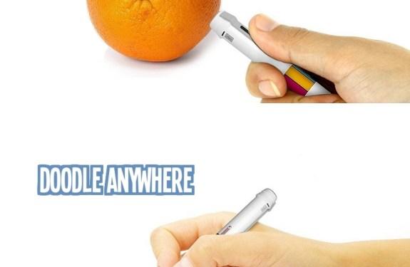 Scribble, un bolígrafo para dibujar con cualquier color que exista en el mundo 1